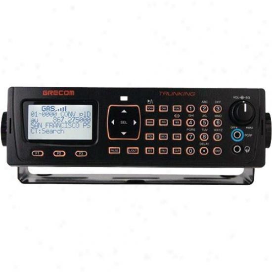 Gre America Psr-410 Mobile Analog Trunking Scanner