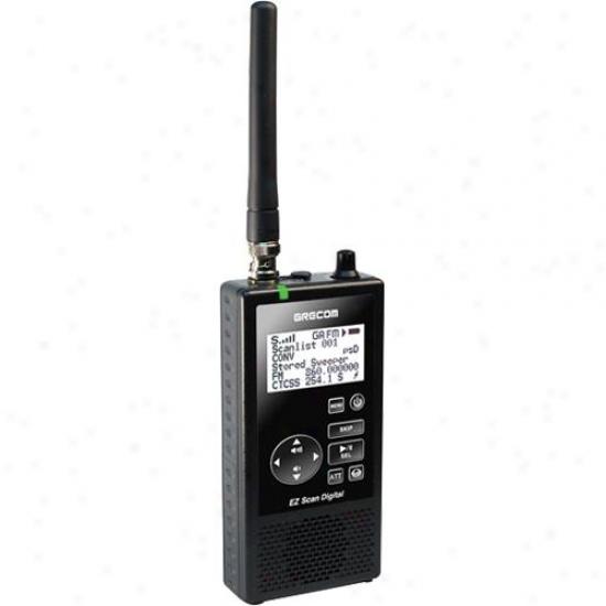 Gre America Psr-800 Ez-scan Digital Analog P25 Scanner