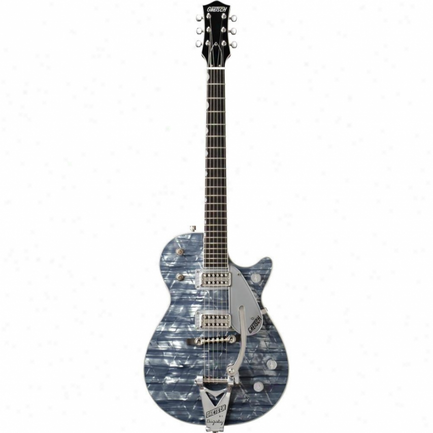 Gretsch® Guitars G6129t Sparkle Jet Electric Guitar - Light Blue Pearl