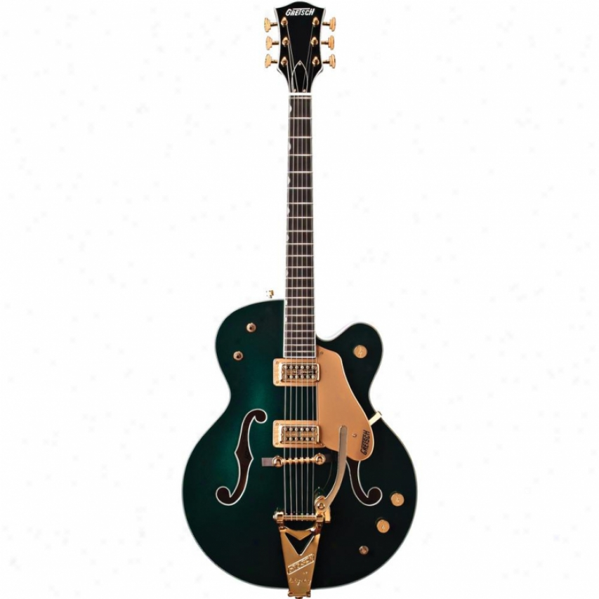 Gretsch® Guitars G6196t Country Club Electric Guitar - Cadillac Green