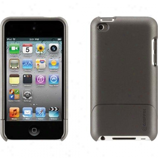 Griffin Technology Outfit Ice Case For Ipod Touch 4g - Gun-metal