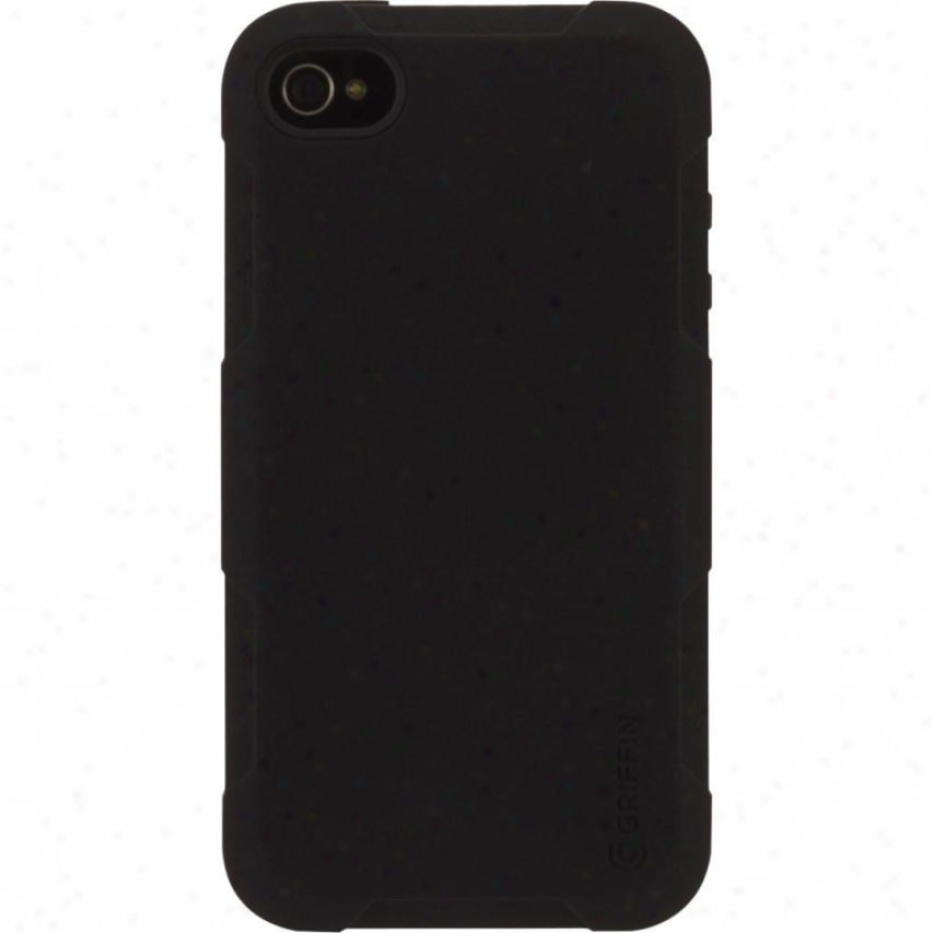 Griffin Technology Protector Case For Iphone 4 And Iphone 4s - Black