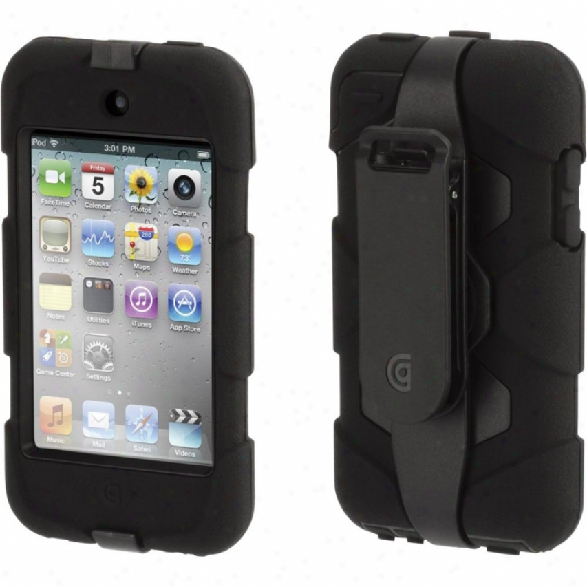 Griffin Technology Suurvivor&beltclip Touch 4 Blk