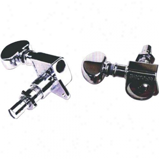 Grover 4814c Mini Locking Tuners