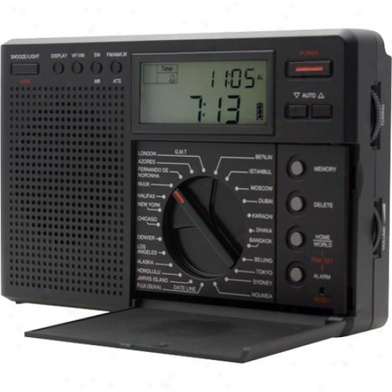 Grundig Ngb Traveler Iu Digital G8 Am/fm/lw Shortwave Radio With Ats