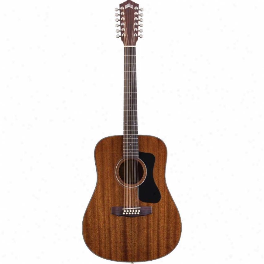 Guils Guitars D-125-12 Dreadnought 12-string Acoustic Guitar - Natural