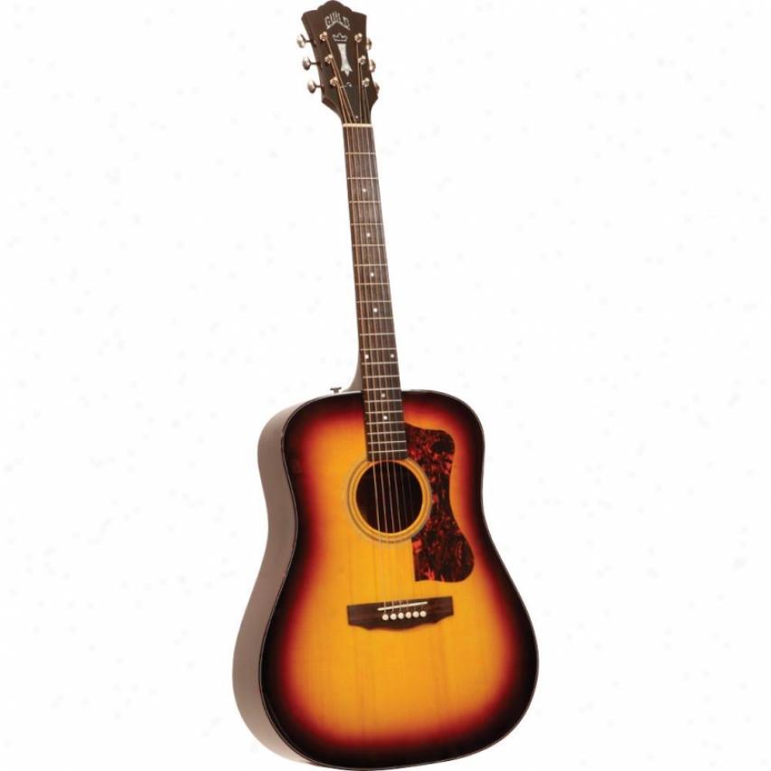 Guild Guitars D-40 Bluegrass Jubilee Guitar - Antique Burst