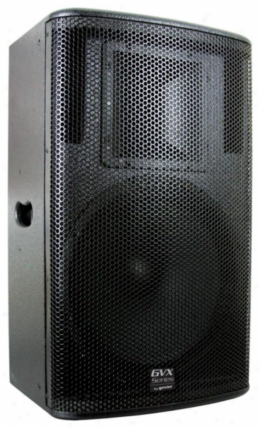 Gvx-15 2-way Passive Speakrr For Pro Dj And Pa System