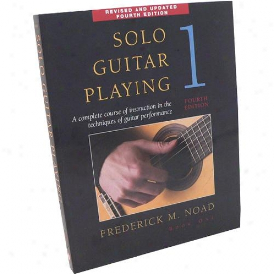 Hal Leonard 14023154 Solo Guitar Playing Book 1 - 4th Edition