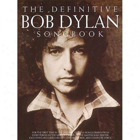 Hal Leonard 14033233 The Definitive Bob Dylan