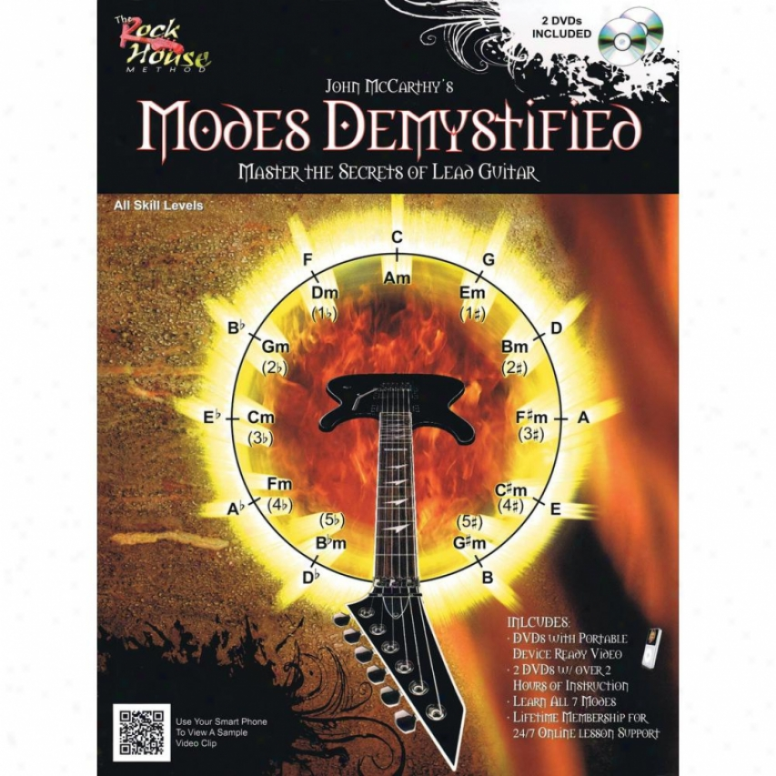 Hal Leonard 14041633 Mores Demystified With Dvd