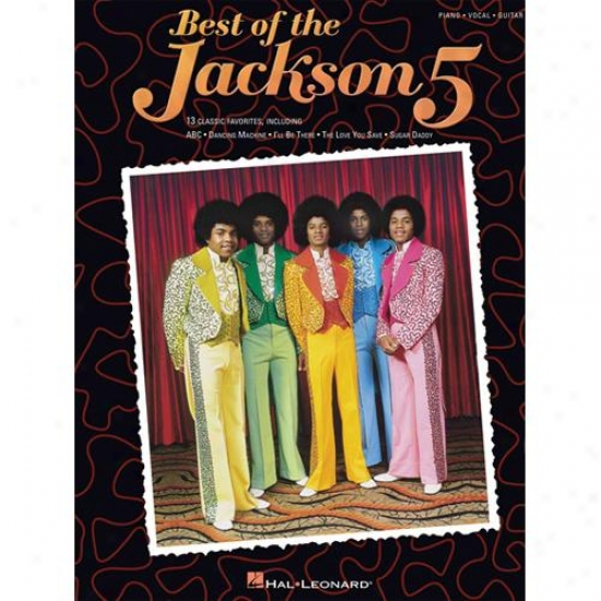 Hal Leonard 306741 Best Of The Jackson 5 Songbook