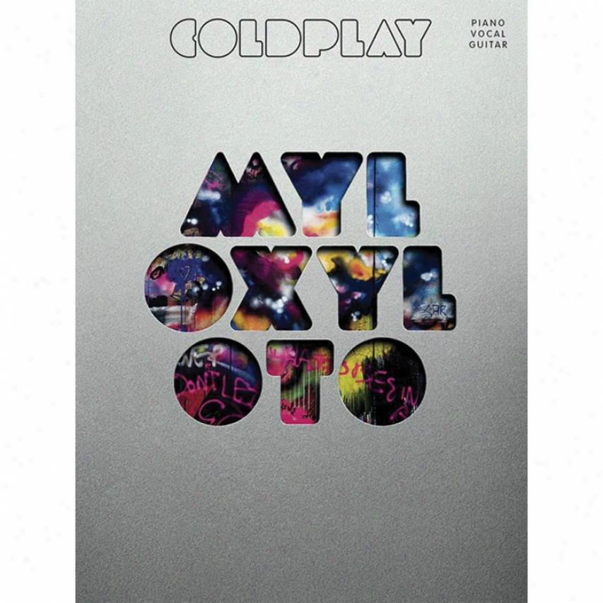 Hal Leonard 307396 Coldplay Mylo Xyloto