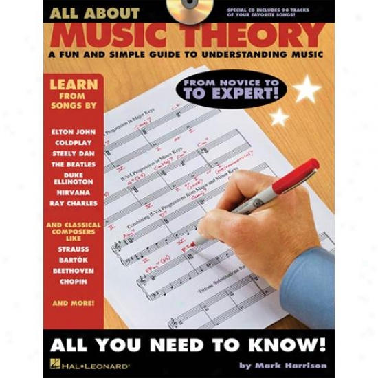 Hal Leonard 311468 All About Music Theory
