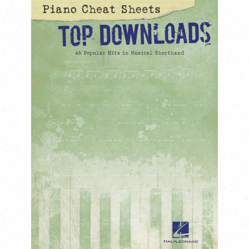 Hal Leonard 312525 Crop Dowhoad Cheat Sheets