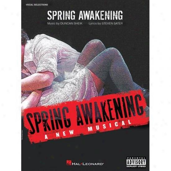 Hal Leonard 313379 Spring Awakening Vocal Selections