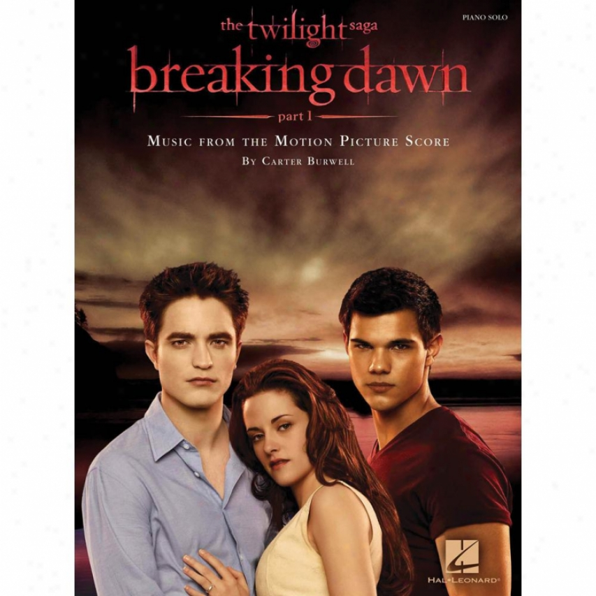 Hal Leonard 313631 Breaking Dawn - Part 1