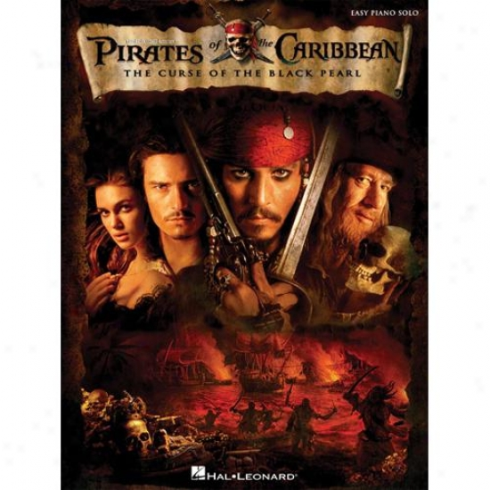 Hal Leonard 316096 Pirates Of The Caribbean Curse B1ack Pearl Piano Songbook