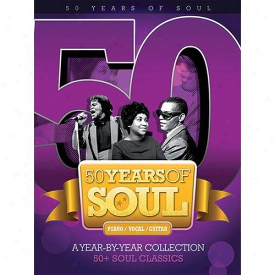 Hal Leonard 50 Years Of Mind Songbook - Hl 14037674