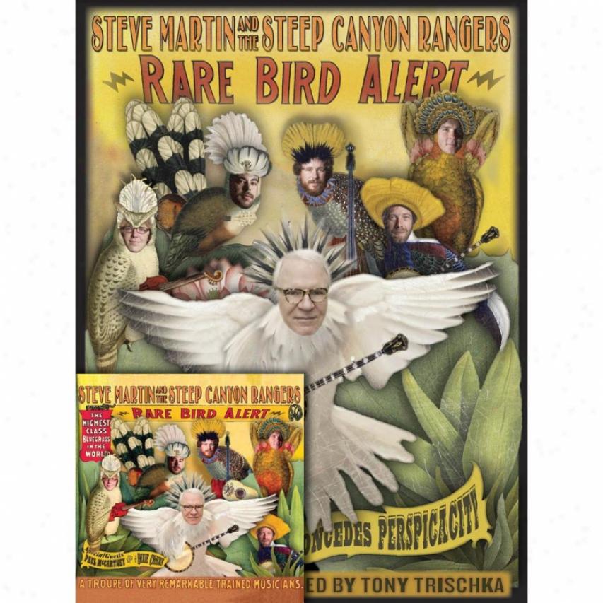 Hal Leonard 642171 Rare Bird Alert Book And Cd