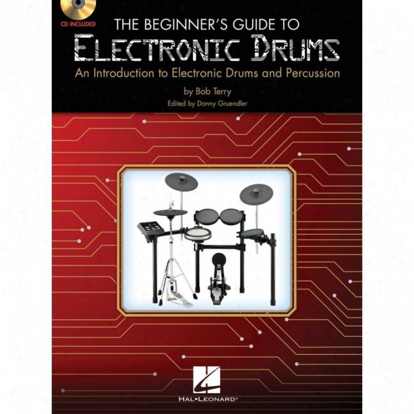 Hal Leonard 6620157 Beginner's Guide To Electric Drums And Cd