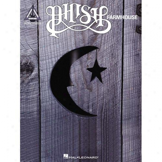 Hal Leonard 690424 Phish Farmhouse Songbkok