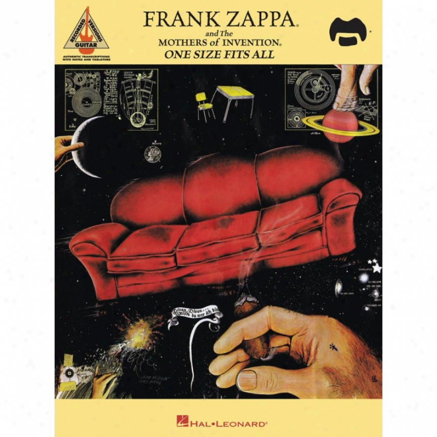 Hal Leonard 690624 Frank Zappa And The Mothers Of Invention Some Size Fits All