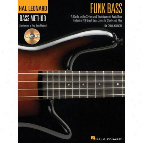 Hal Leonard 695792 Guide To The Techniques Of Funk Bass With Cd