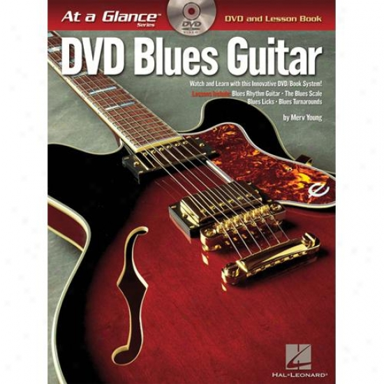 Hal Leonard 696031 Blues Guitar At A Glance
