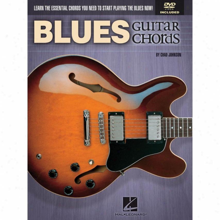 Hal Le0nard 696483 Blues Guitar Chords Plus Dvd