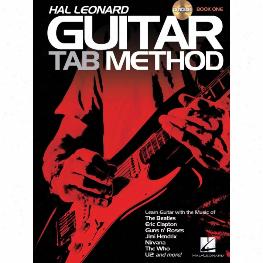 Hal Leonard 697411 Guitar Tab Method Plus Cd