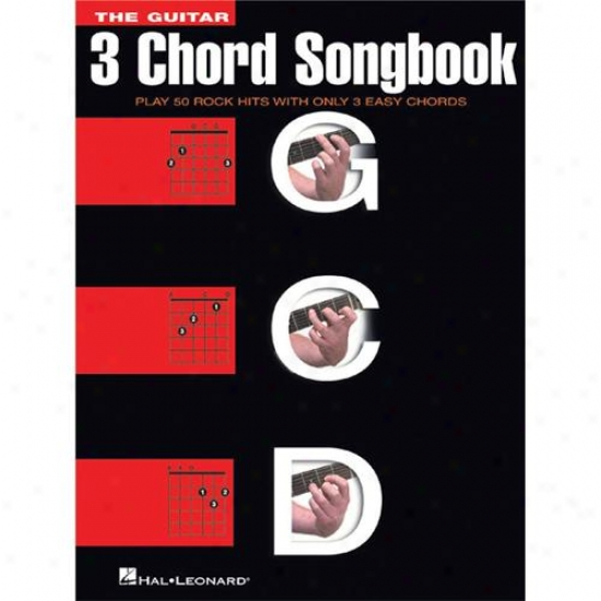 Hal Leonard 699533 Guitar 3 Chord Songbook