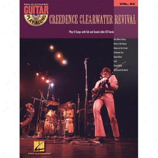 Hal Leonard 699802 Creedence Clearwater Guitar Play Along Vol 63 With Cd