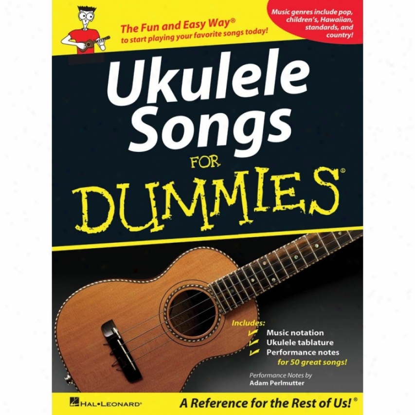 Hal Leonard 701718 Ukulele Sonhs For Dummies
