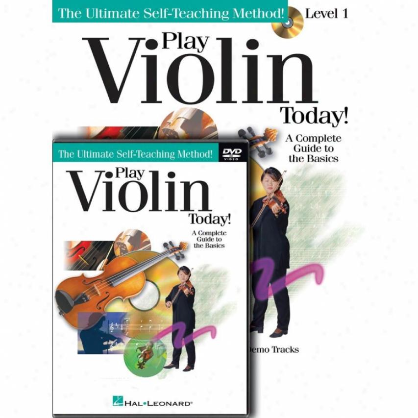 Hal Leonard 701876 Sport Violin Today Pack