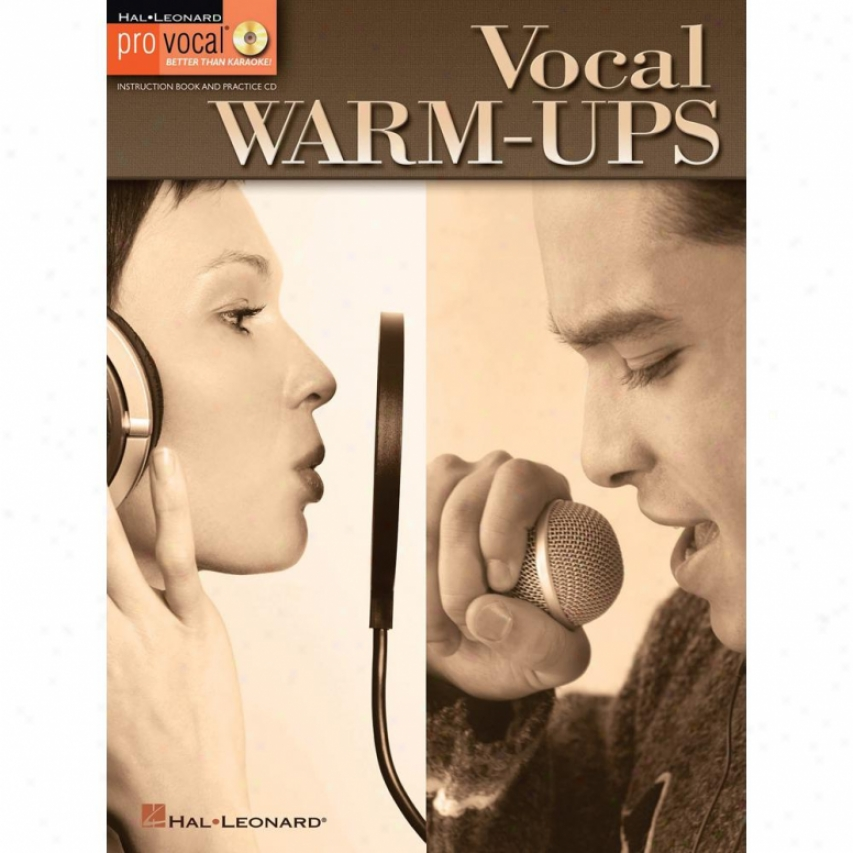 Hal Leonard 740395 Vocal Warm-ups Attending Cd