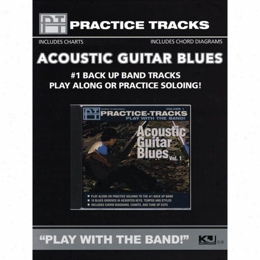 Hal Leonard Acoustic Guitar Blues - Vol. 1 - Hl 00451117