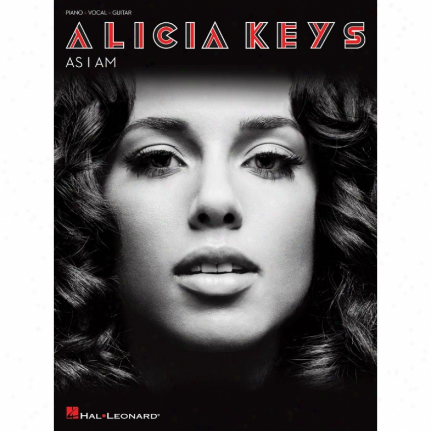 Hal Leonard Alicia Keys - As I Am - Piano/voocal/guitar Artist Songbook