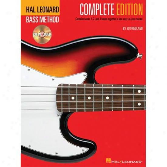 Hal Leonard Bass Method - Complete Editioh - Hl 00695074