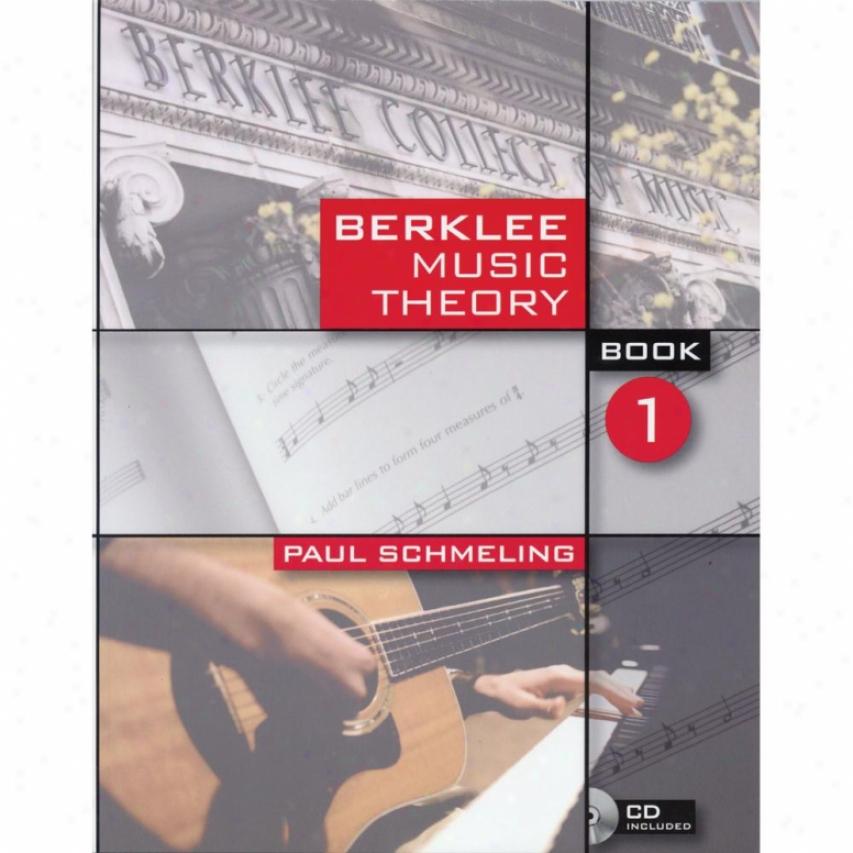 Hal Leonard Berklee Msuc Theory - Book 1 - Hl 50448043