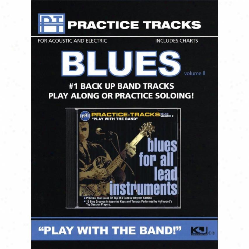 Hal Leonard Blues For All Lead Instruments - Volume 2 Cd - Hl 00451109