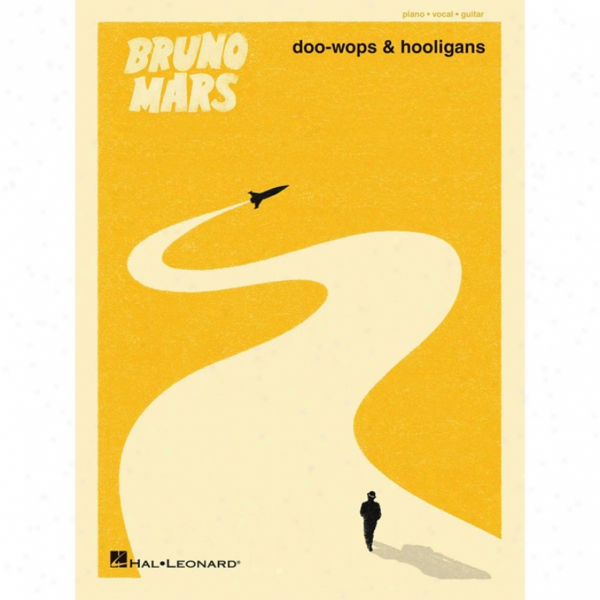 Hal Leonard Bruno Mars - Doo-wops & Hooligans - Piano/vocal/guitar Songbook