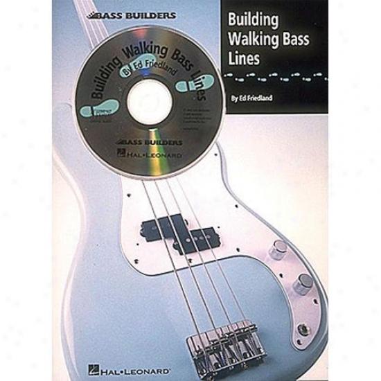 Hal Leonard Building Walking Bass Lines Booj - Hl 00695008