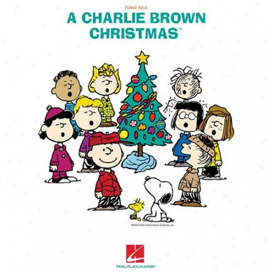 Hal Leonard Charlie Brown Chrisfmas Songbook
