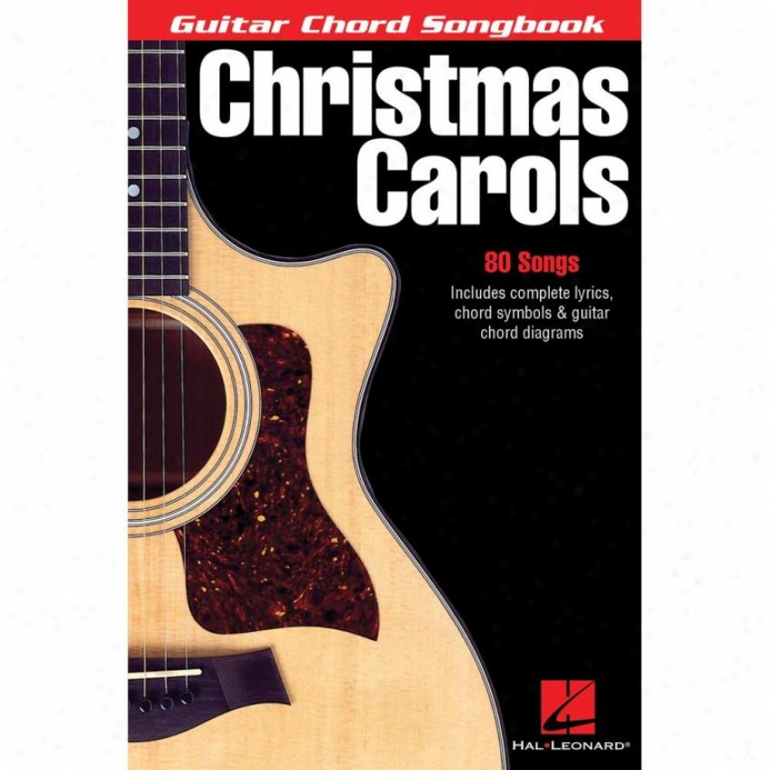 Hal Leonard Christmas Carols Songbook - Hl 00699536