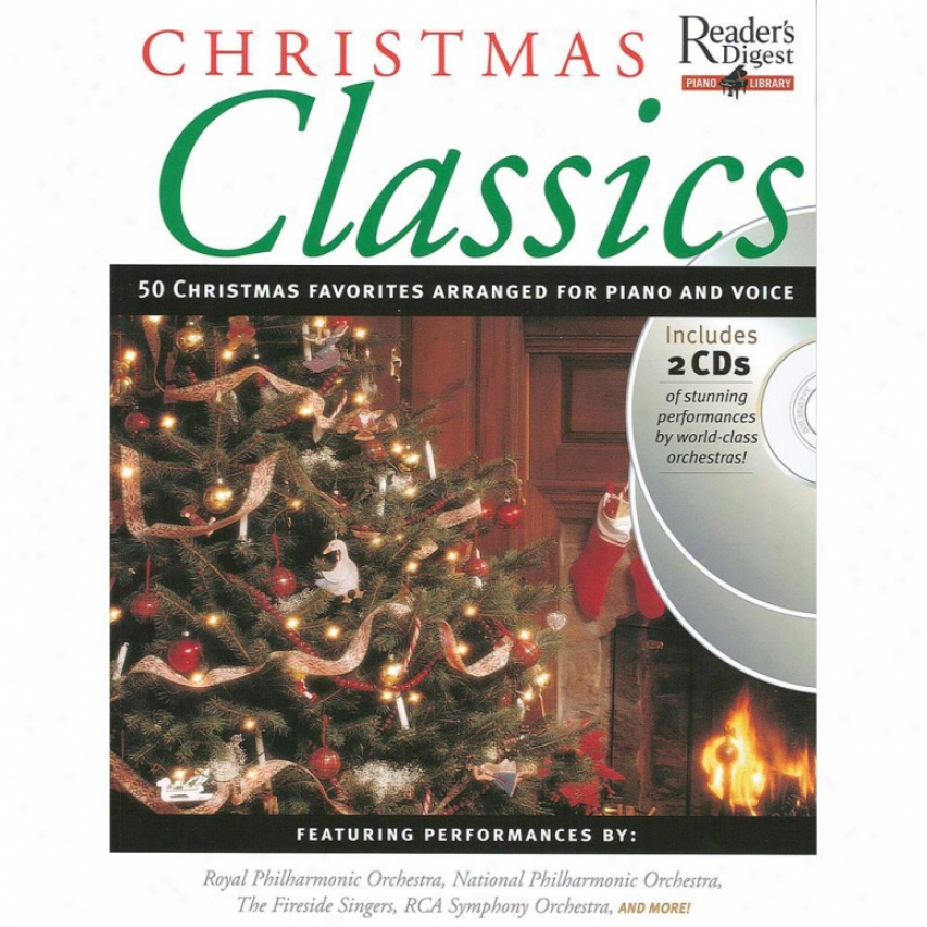Hal Leonard Christmas Classics - Reader&s Digest Piano Library Book/2-cd Pack