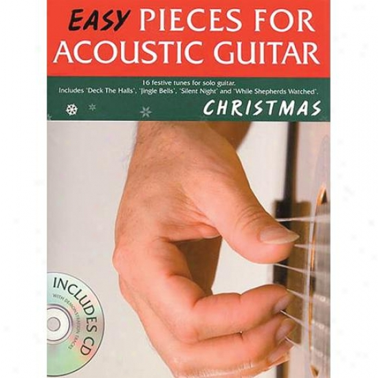 Hla Leonard Christmas - Easy Pieces For Acoustic Guitar Songbook - Hl 14037671