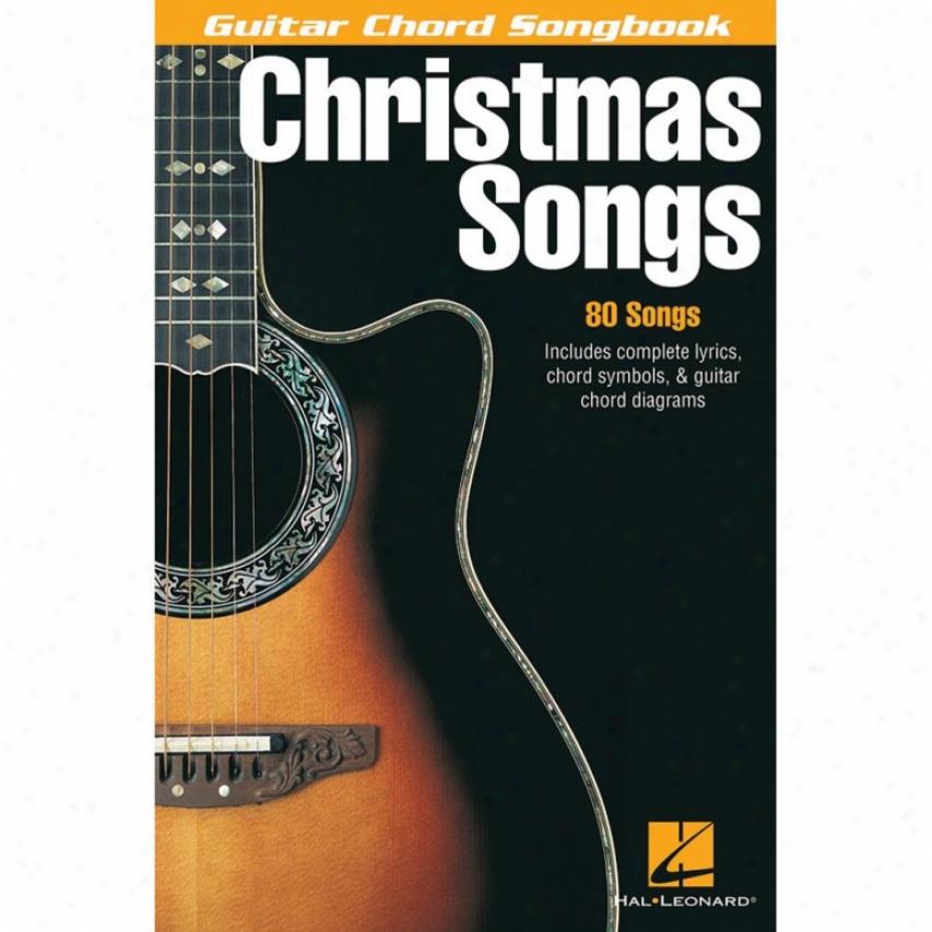 Hal Leonard Christmas Songs Songbook - Hl 00699537
