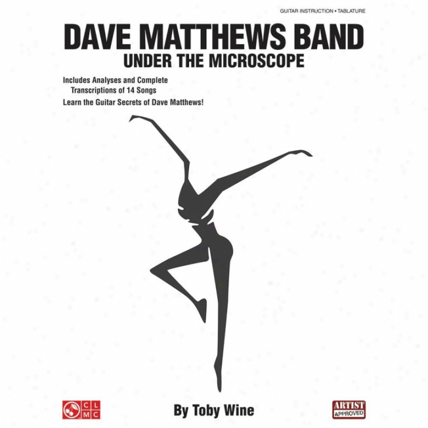 Hal Leonard Dave Matthews Band - Under The Microscope Book - Hl 02501070