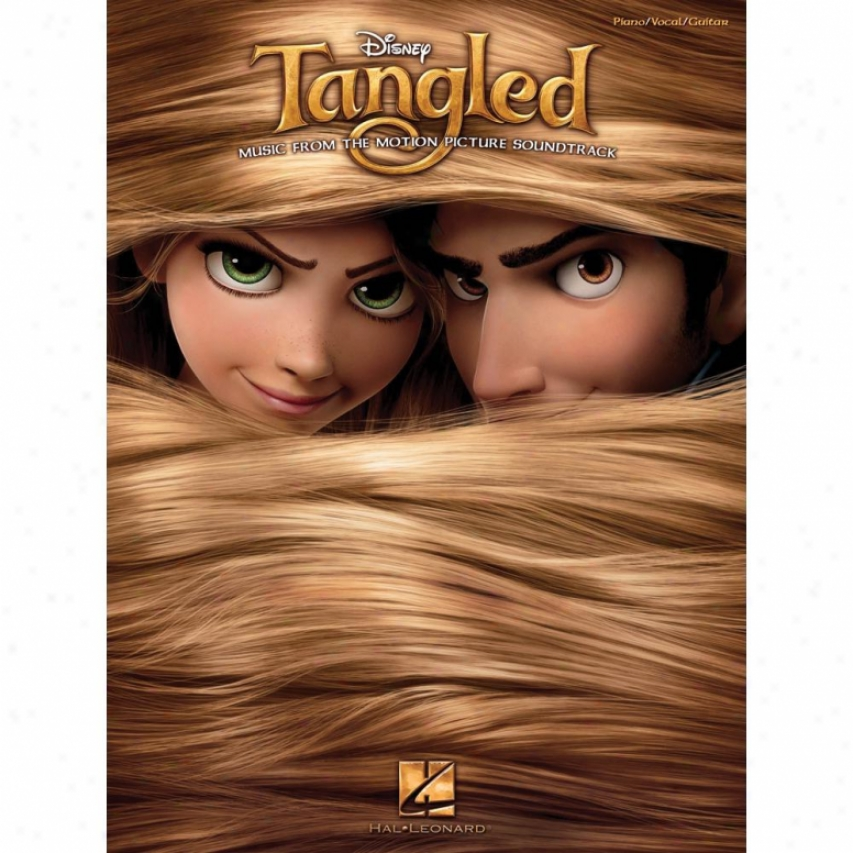 Hal Leonard Disney&#039;s Tangled - Piano/vocal/guitar Songbook
